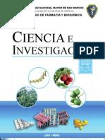 CIENCIA E INVES 2009-1