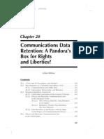 Communications Data Retention