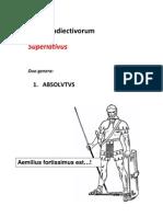 De adiectivorum significationis gradibus (II)