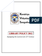 kvs librarypolicy2012