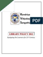 kvs librarypolicy2012