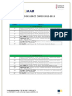 Libros Texto 2012 - 2013
