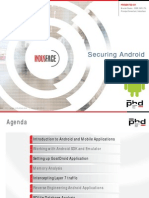 Securing Android Applications