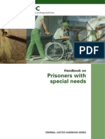 Prisoners With Special Needs