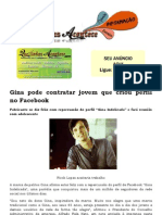 Gina Pode Contratar Jovem Que Criou Perfil No Facebook