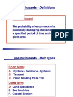 Coastal Hazards (Cyclones-hurricanes)
