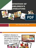 Children Literature Definition