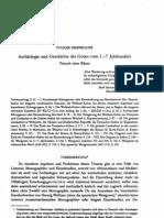 Bierbrauer,V.,Archaeologie und Geschichte der Goten vom 1.-7. Jahrhundert,Fruehmittelalterliche Studien28(1994),51–171