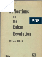Baran, Paul A., Reflections on the Cuban Revolution