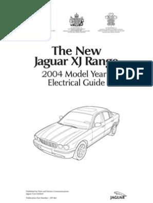 [DIAGRAM_38EU]  2004 Jaguar XJ Series Vehicle Wiring Book   Throttle   Computer Network   2004 Jaguar Xj8 Wiring Diagram      Scribd