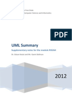 UML Summary 2012