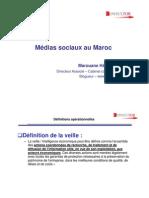 médias sociaux au maroc-hotel kenzi consultor marouane harmach