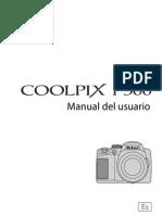 Manual Câmera- Nikon Coolpix P500