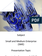Semester 5, Presentation of SME (1)