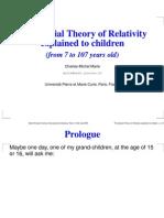 Understand Relativity