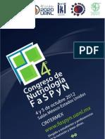 4º Congreso de Nutriología FaSPyN