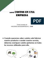 Costo, Ingreso y Utilidad 2012-i