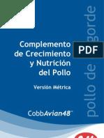 CobbAvian48 BPN Supp Spanish Grams