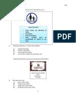 Percubaan PMR  SBP 2012 - Bahasa Inggeris Kertas 1