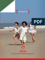 Bharti Airtel Abridged Annual Report 2012 New