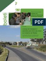 Boletim Informativo da Gestão Ambiental da BR-116/392 - Agosto/2012