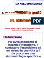 Dott.ssa Ruggero - Avvelenamento Acuto