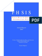Field Health Service Information System Annual Report 2005