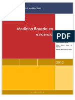 Qué es Medicina Basada en evidencia trabajo final