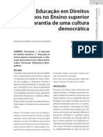Elisaide Educa%C3%A7%C3%A3o Em Direitos Humanos