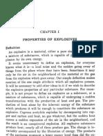 Chemistry of Powders Explosives