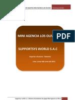 Informe Agencia Los Olivos