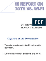 Wifi vs Bluetooth