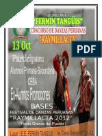 2012 Bases Danza Ex Alumnos