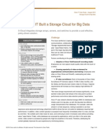 Cisco IT Case Study Storage Cloud for Big Data