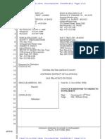 Google Disclosures Oracle