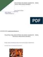Técnicas Multiplicadoras em Comunicação - Palestra Min. Meio Ambiente - CESPE/MMA