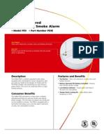 PE9E Battery Operated Smoke Alarm - Photoelectric
