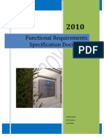 Functional Requirements Specification Document for KSS Deanery