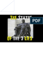 the statue of 3 lies