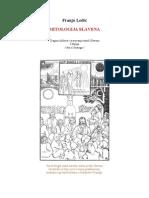 MITOLOGIJA SLAVENA by Franjo Ledić- I knjiga
