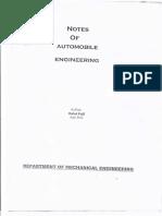 Automobile Lab File