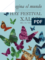 Programa Hay Festival Xalapa 2012