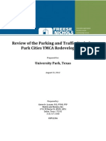 Review of the Parking and Traffic Study for Park Cities YMCA Redevelopment
