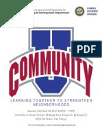 Community U Brochure 2012 082712