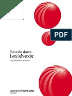 Búsqueda en Lexis Nexis. Top 10 empresas japonesas