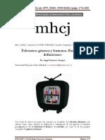 Teleseries Generos y Formatos Ensayos de Definiciones CARRASCO