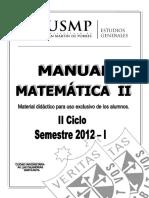 Manual Matemtica II 2012 2