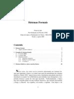 01 - Sistemas Formais [Notas de Aula] Newton Da Costa