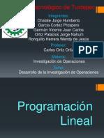 Desarrollo de la investigación de operaciones