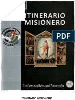 Panama, Conferencia Episcopal - Itinerario Misionero